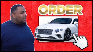 OMI IN A HELLCAT ORDERS A 2020 BENTLEY & TEVIN FARMER STOPS BY
