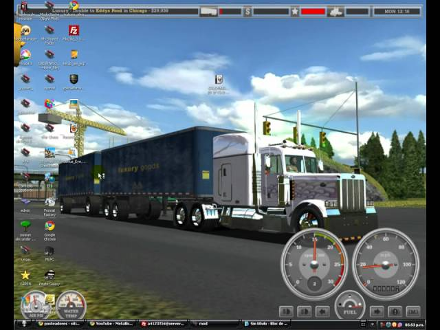 tutorial  18 wheels of steel haulin MOD MAPA COLOMBIA