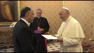 New Mexico ambassador presents credentials to Pope Francis