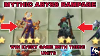 BEST ABYSS STRATEGY - TOP MAGIC CHESS SYNERGY - Mobile Legends Bang Bang