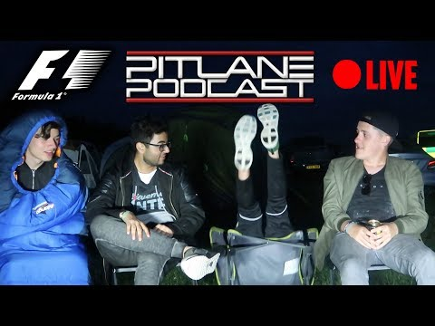 PODCAST LIVE AT SILVERSTONE!!! - F1 2017 British GP Review - Pitlane Podcast #55