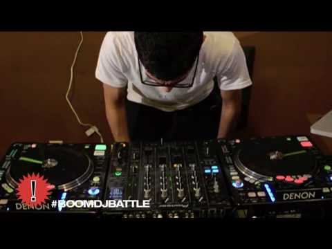 2013 BOOM DJ Battle Finalist - Mr. Shaw - Age 21