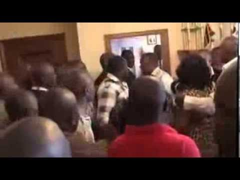 Nairobi Governor Evans Kidero Slaps Nairobi Women Rep Rachel Shebesh video