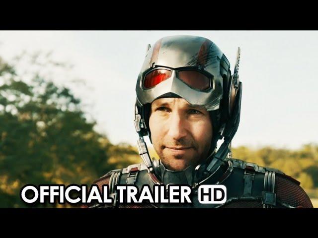 Ant-Man Official Trailer #1 + Movie News (2015) - Paul Rudd Marvel Movie HD
