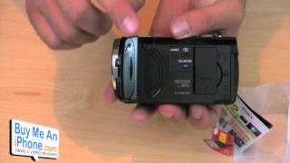 Unboxing- Sony HDR-PJ10 Camcorder w/ built-in Projector