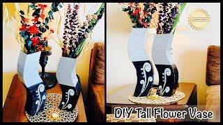 How to make Flower Vase| gadac diy| craft ideas for home decor| home decorating ideas| diy craft