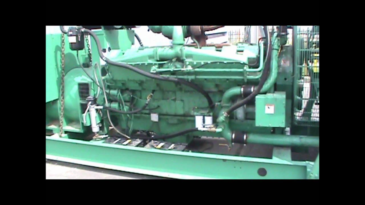 Cummins Kta50 G3 1250kw 480v W Fuel Tank Open Diesel