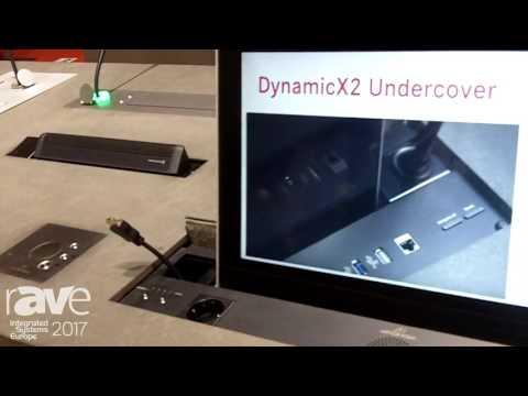 ISE 2017: Arthur Holm Demos DynamicX2 Undercover Display