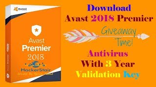 Download Avast Premier 2019 Antivirus Full Version With Validation Key Till 2028