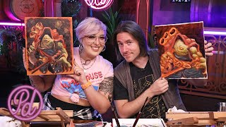 Painting Orly with Matt Mercer! | Pub Draw S2E3