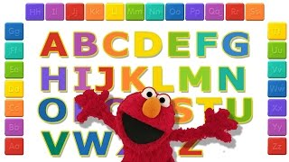 Learn to Write Letter ABC and Play with Elmo