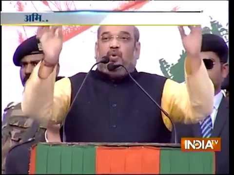Live: Huge crowd in Amit Shah rally in Kolkata