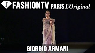 Giorgio Armani Spring/Summer 2015   Milan Fashion Week MFW   FashionTV
