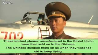 North Korean Air Force Propaganda Video