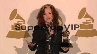 SPEECH - Bonnie Raitt on splitting her time. at The 55th ...