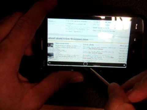 HTC Touch HD Software Tour