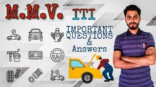 AUTOMOBILE ENGINEERING( MMV) ITI/CTI CHARGING SYSTEM IMPORTANT QUESTIONS 4th sem