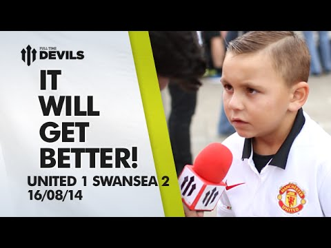 It Will Get Better! | Manchester United 1 Swansea 2 | FAN CAM