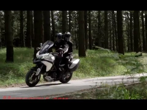 2013 Ducati Multistrada 1200 S Touring Motorcycle Review