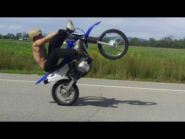ttr 125 stunts