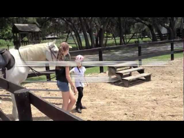 Orlando Social Skills Horse Camp 2012   Great for ADHD & Aspergers