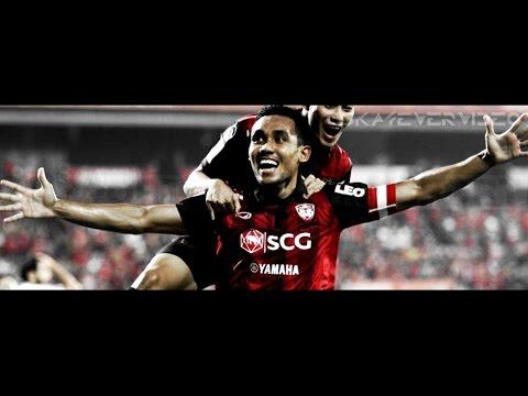 ธีรศิลป์ แดงดา Teerasil Dangda - Perfect Striker - Crazy Skills Dribbling Goals |HD|