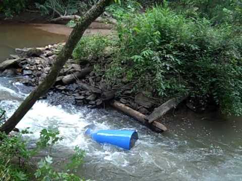 River Pump Install