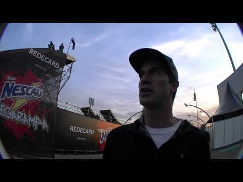 Bob Burnquist interview for NESCAU MegaRamp in Brazil 2011