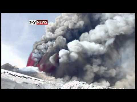 Mount Etna's Fury: Volcano Spews Lava And Ash