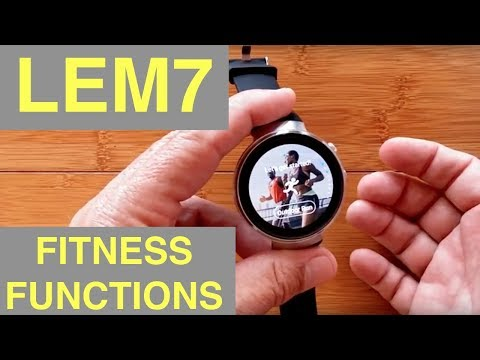 LEMFO LEM7 4G Cell 1GB/16GB Android 7 Smartwatch: The Sad Truth about the New Fitness Features
