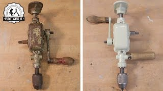 1940's Two Speed Enclosed Breast Drill Restoration