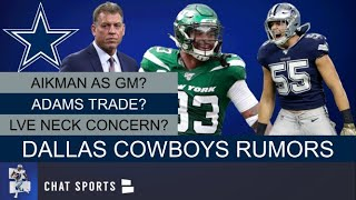 Dallas Cowboys Rumors: Jamal Adams Trade? Leighton Vander Esch Injury Fears? Troy Aikman As New GM?