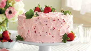 Strawberry-Lemonade Layer Cake   Southern Living