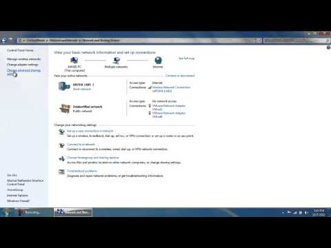 How to Turn on Network Discovery in Windows 7