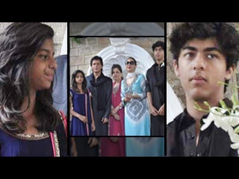 Aryan & Suhana Embarrased By Shahrukh Khan's Fame video