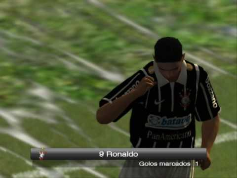 Gol Ronaldo Corinthians X Santos - Cleber Machado E Luciano Do Valle video