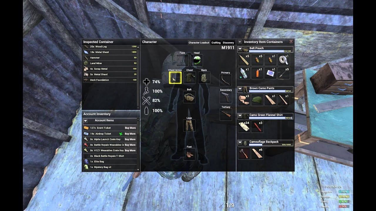 Plate Armor H1z1 New H1z1 Plate Armour Survival