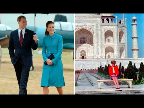 William and Kate to visit India's Taj Mahal