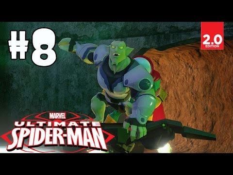 Ultimate Spider-man - Part 8 (escapee Escort, The Cat's Out Of The Bag, ) Disney Infinity 2.0 video