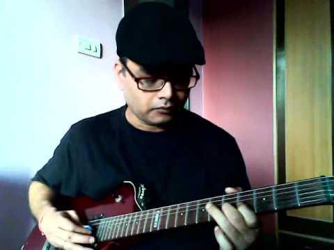 Chehra hai ya chand khila hai (Saagar) intro guitar piece