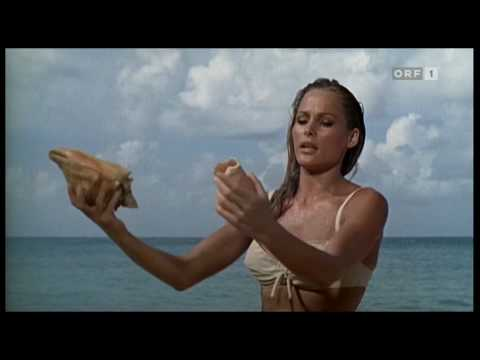 James Bond - Dr No - Underneath The Mango Tree With Honey Rider video