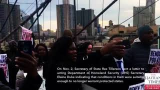 Trump Giving His Nazi Boot To 60,000 Useless Wilding Haitian Fantastical Nigger-Rillas!