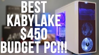 Best $450 Budget Gaming PC Build Kaby lake G4560 RX 470 (w/ Benchmarks)