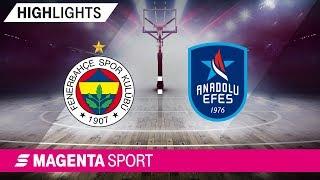 Fenerbahce Istanbul - Anadolu Efes Istanbul | Halbfinale, Spiel 1 | MAGENTA SPORT