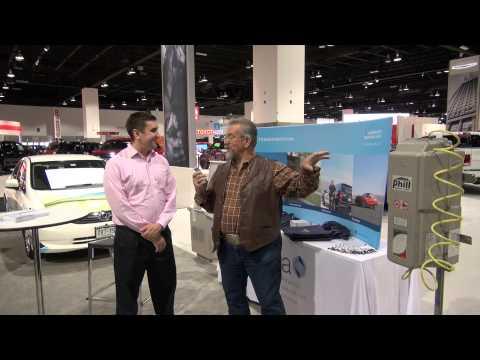 Part 2 Denver Auto Show with CNG, 2015 Mustang, Tesla, Corvette Stingray, Jaguar, Porshe, Ferrari