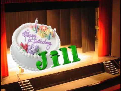 Happy Birthday Jill Youtube
