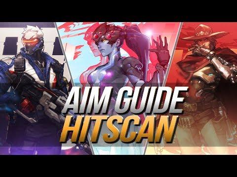AIM GUIDE | Hitscan Helden | Flickshots - Tracking - Prediction | Overwatch Bootcamp | Deutsch