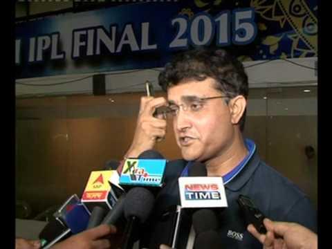 Sourav Ganguly speaks on Harbhajan Singh's Selection