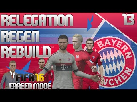 FIFA 16 Bayern Munich Career Mode - RRR - E13