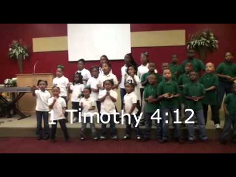 1 Timothy 4:12 Scripture Song by Ekklesia Christian School